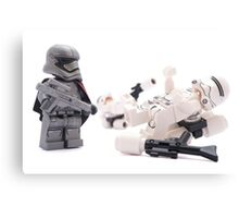 Uh Captain, I think these new flametroopers are a little top heavy Canvas Print