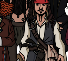 Johnny Depps Sticker