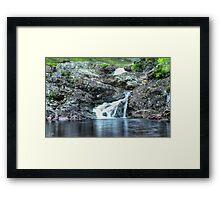 Waterfall near Ullapool Framed Print