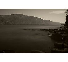Misty Loch Ness Photographic Print