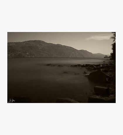 Misty Loch Ness Photographic Print