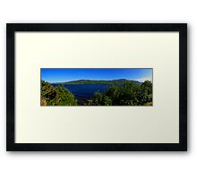 Loch Ness Panoramic Framed Print
