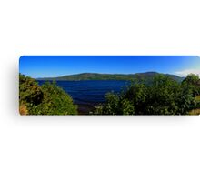 Loch Ness Panoramic Canvas Print