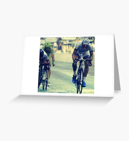 """""""tour"""" from TV - 6 Greeting Card"""