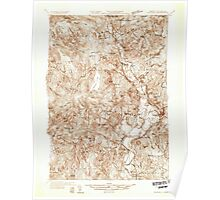USGS Topo Map  Vermont VT Guildhall 337800 1933 48000 Poster
