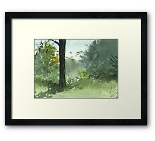 Sitting Under The Apple Tree Framed Print