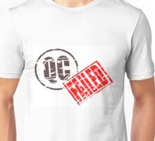 Quality control failure Unisex T-Shirt