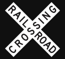 Rail road crossing by alxlajoie