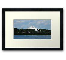 SPACE MOUNTAIN WALT DISNEY WORLD ORLANDO FLORIDA JULY 2013 Framed Print