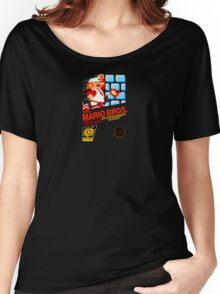 Super Mario Bros box Women's Relaxed Fit T-Shirt