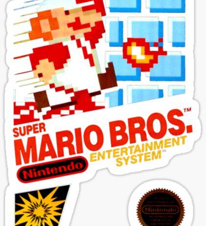Super Mario Bros box Sticker