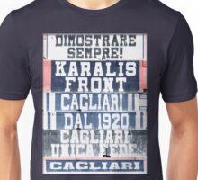 Cagliari Calcio Stadio Sant'elia Art Vintage Unisex T-Shirt