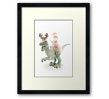That thing out there... That is no dinosaur Framed Print