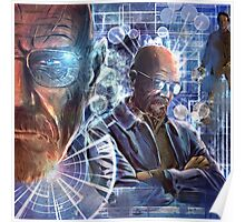 Heisenberg - No looking back for Walter White Poster