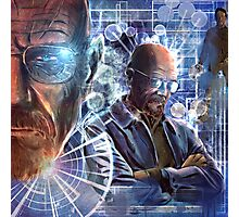 Heisenberg - No looking back for Walter White Photographic Print
