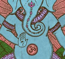 peace ganesh parchment Sticker