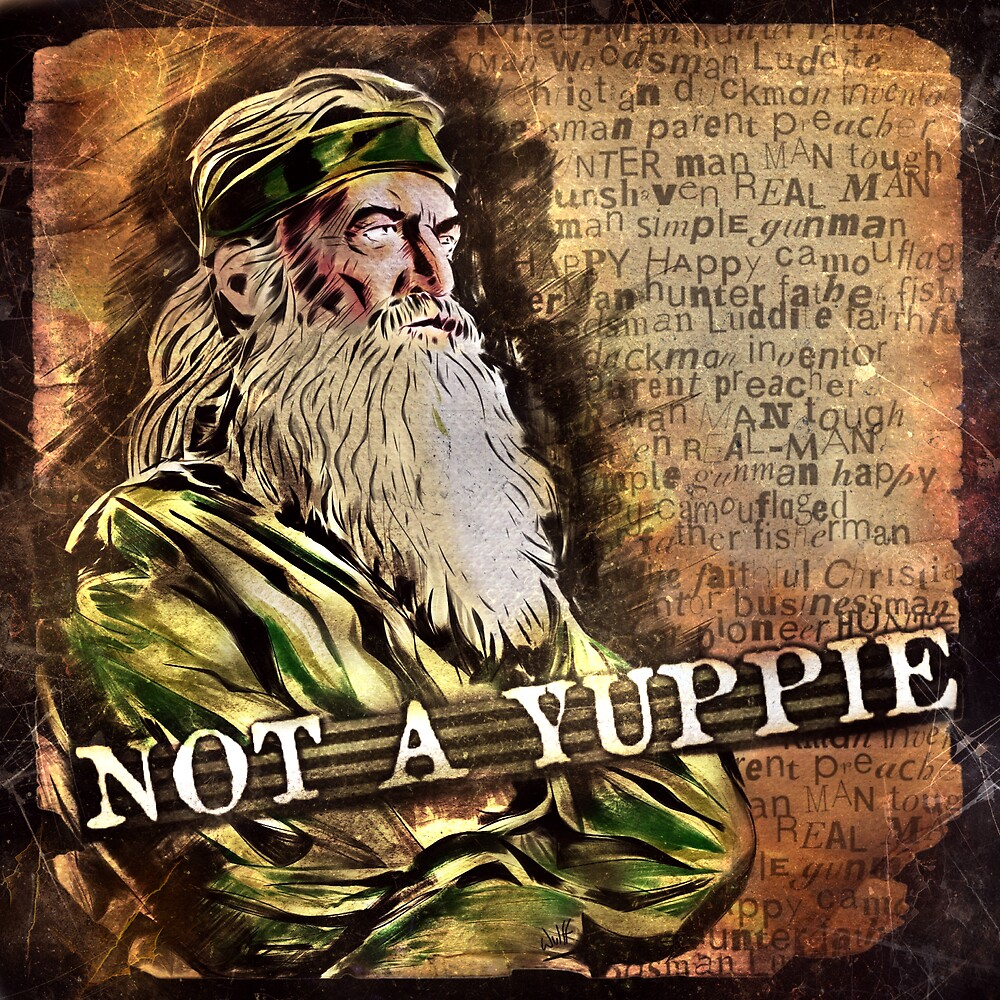 Phil Robertson - Not a Yuppie by uberdoodles