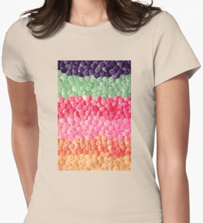 The Sweetest Rainbow Womens Fitted T-Shirt