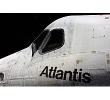 SPACE SHUTTLE ATLANTIS KENNEDY SPACE CENTER FLORIDA JULY 2013 Photographic Print
