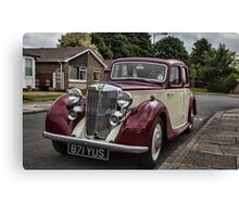 MG Y-type Saloon Canvas Print