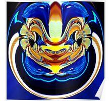 contemporary techno art 1013 Poster
