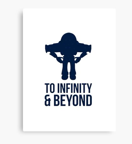 Buzz Lightyear To Infinity & Beyond Canvas Print
