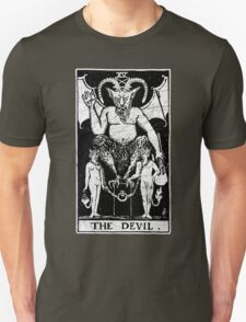 The Devil Tarot Card - Major Arcana - fortune telling - occult Unisex T-Shirt