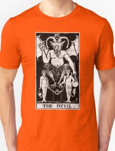 The Devil Tarot Card - Major Arcana - fortune telling - occult T-Shirt
