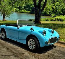 1958-61 Austin Healey Bug Eye Sprite by TeeMack