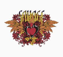 Savage heart by tshirt-factory