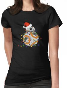 Deck the Droid Womens Fitted T-Shirt