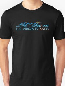St Thomas V-Neck  T-Shirt