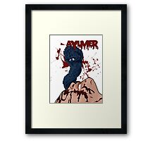 Aylmer - Brain Damage Framed Print