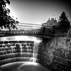 Ripley Castle Waterfall by eatsleepdesign