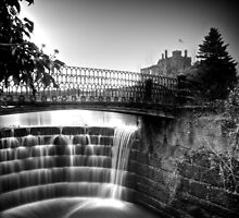 Ripley Castle Waterfall by eatsleepdesign