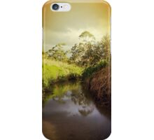 Sunset River iPhone Case/Skin