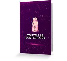Dalek's revenge Greeting Card