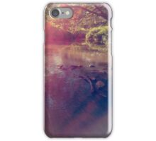 Light Streaked River iPhone Case/Skin