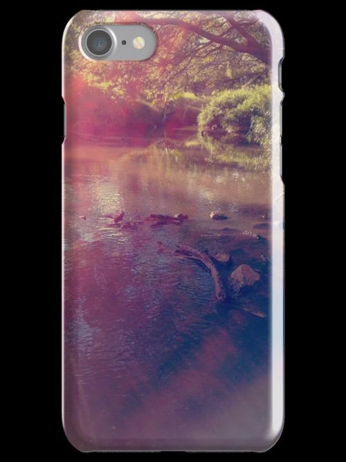 Light Streaked River by AleksCanard