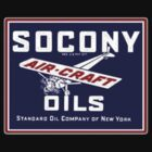 Socony aircraft oil by justicious
