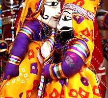 Puppet I-phone case by pranati