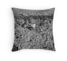 Gravel Love Throw Pillow