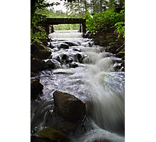 Water Over the Spillway Photographic Print