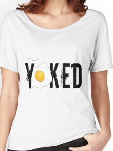 Yoked Women's Relaxed Fit T-Shirt