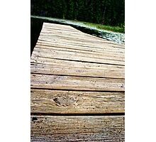 The Low Down No Good Dock Photographic Print