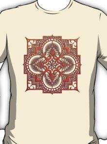 omjárah mandala woodcut T-Shirt