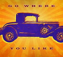 Go Where You Like by Mark Buchler