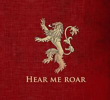House Lannister by heroinchains