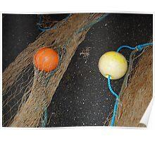 floating balls Poster