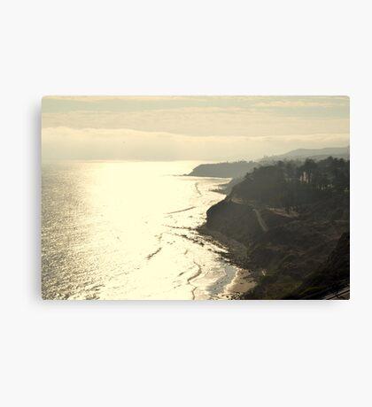 Paseo Del Mar Canvas Print